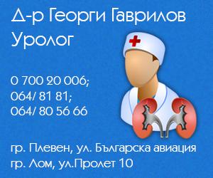Д-р Георги Гаврилов – Уролог